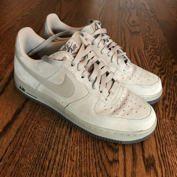 nike air force Shoes Nike Suede Tan Air Force Ones Poshmark